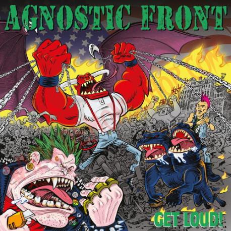 Vinilo LP Agnostic Front - Get loud!
