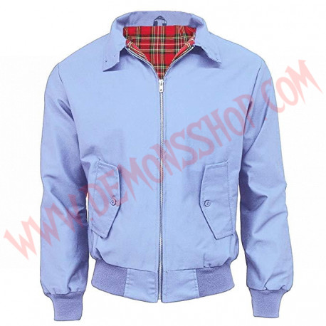 Chaqueta Harrington Sky Blue