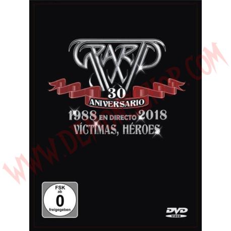 DVD + CD Sparto - 30 Aniversario-Víctimas, héroes 1988-2018