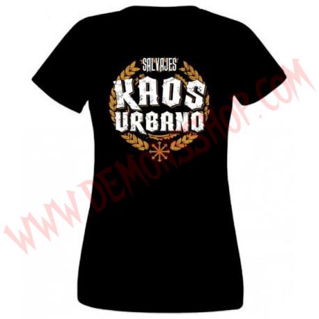 Camiseta Chica MC Kaos urbano
