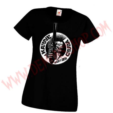 Camiseta Chica MC Karne Cruda
