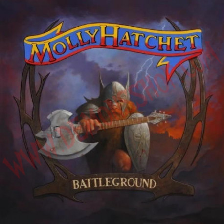 Vinilo LP Molly Hatchet - Battleground