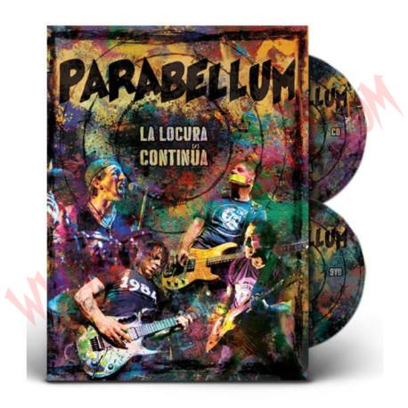 DVD - CD Parabellum - La locura continúa