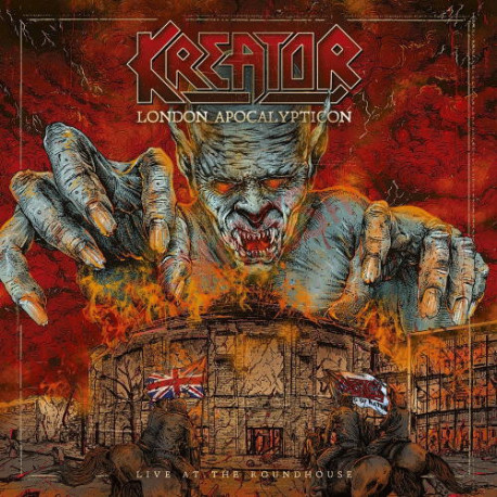 CD Kreator - London apocalypticon - Live at the Roundhouse
