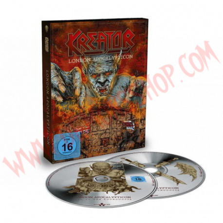 Blu-Ray Kreator - London apocalypticon - Live at the Roundhouse