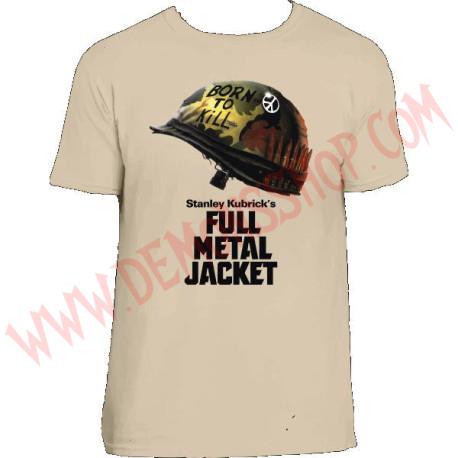 Camiseta MC La chaqueta metalica