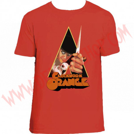 Camiseta MC La naranja metalica