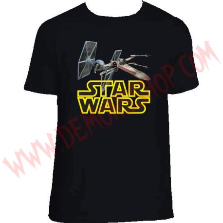 Camiseta MC Star Wars Naves