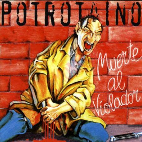 Vinilo LP Potrotaino - Muerte al Violador