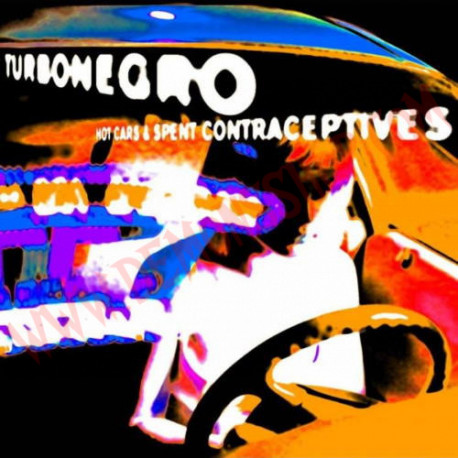 CD Turbonegro - Hot Cars & Spent Contraceptives