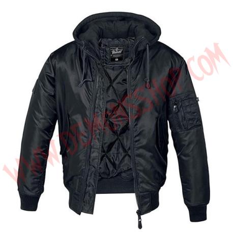 Chaqueta MA1 Sweat Hooded black