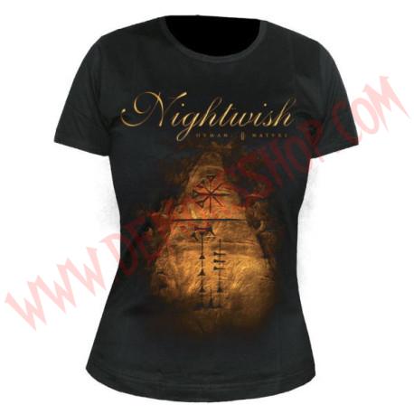 Camiseta Chica MC Nightwish