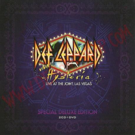DVD Def Leppard - Viva! Hysteria