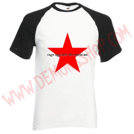 Camiseta Raglan MC Rage Against The Machine