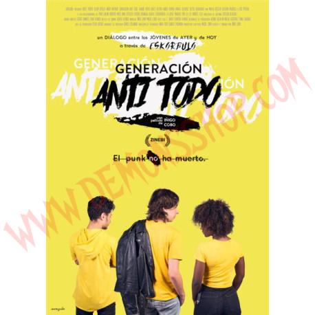 DVD Generación Anti Todo (Eskorbuto)
