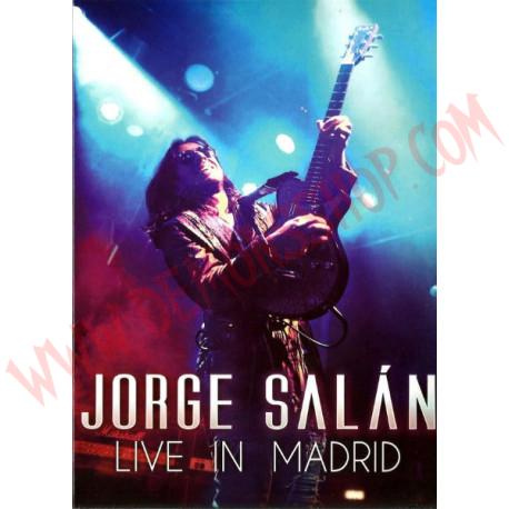 DVD Jorge Salan – Live In Madrid