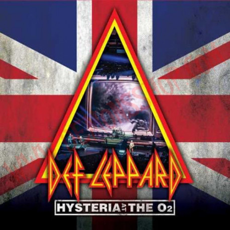 Blu-Ray Def Leppard - Hysteria At The O2