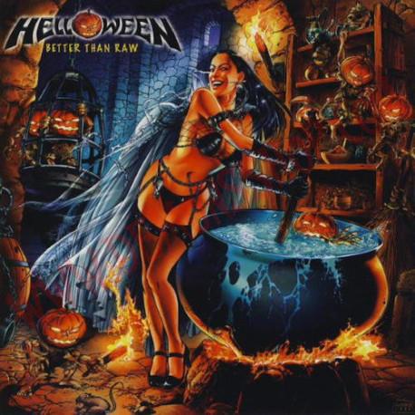 CD Helloween - Better Than Raw