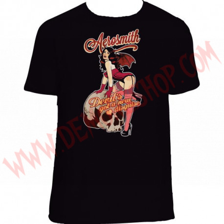 Camiseta MC Aerosmith