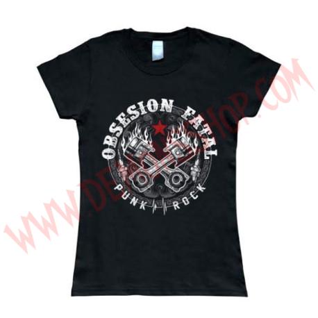 Camiseta Chica MC Obsesión Fatal