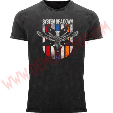 Camiseta MC System of a Down (Lavado a la piedra)