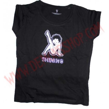 Camiseta Chica MC Betty Boop