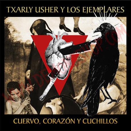 CD Txarly Usher y los Ejemplares - Cuervo, corazón y cuchillos