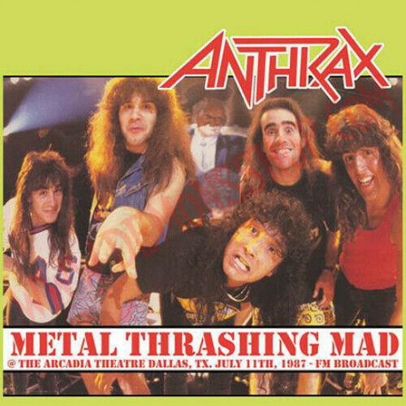 Vinilo LP Anthrax - Metal thrashing mad