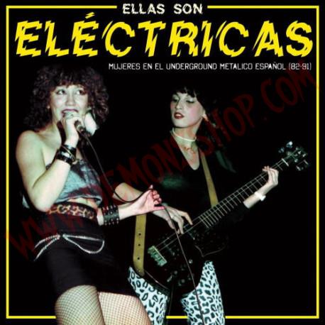 Vinilo LP Ellas son eléctricas - Mujeres en el underground metalico español (82-91)
