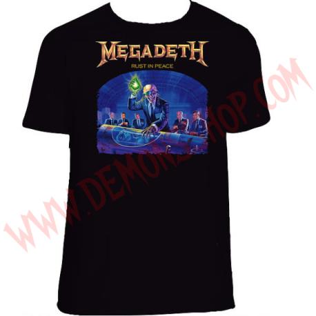 Camiseta MC Megadeth
