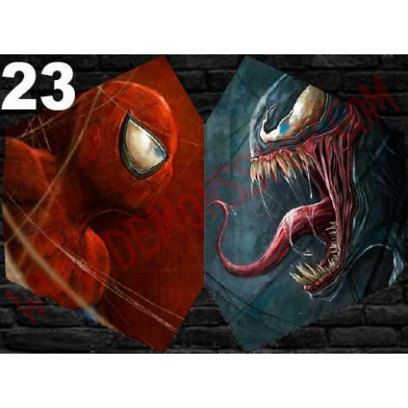 Mascarilla Spiderman Vs Venom