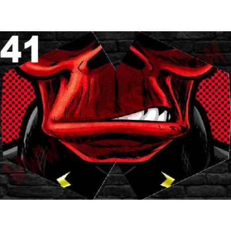 Mascarilla Red Skull