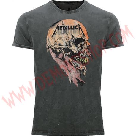 Camiseta MC Metallica (lavada a la piedra)