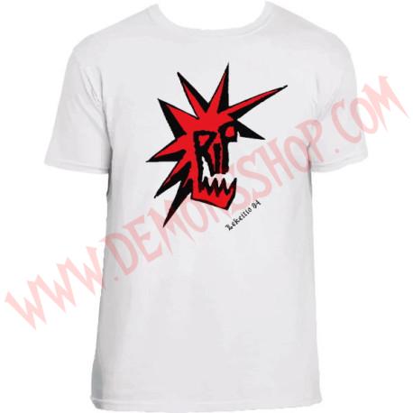 Camiseta MC RIP (Blanca)