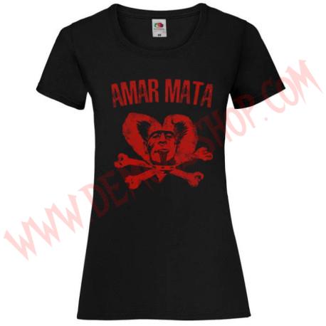Camiseta Chica MC Radiocrimen