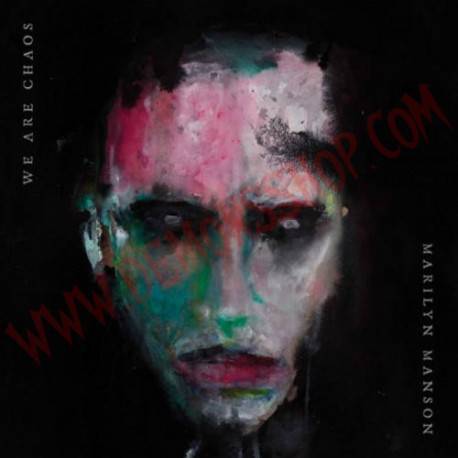 CD Marilyn Manson – We Are Chaos