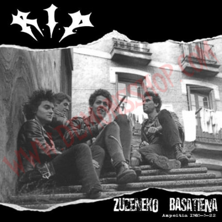 Vinilo LP RIP - Zuzeneko Basatiena