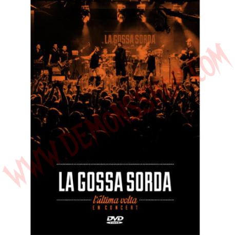 DVD La Gossa Sorda – L'Última Volta En Concert