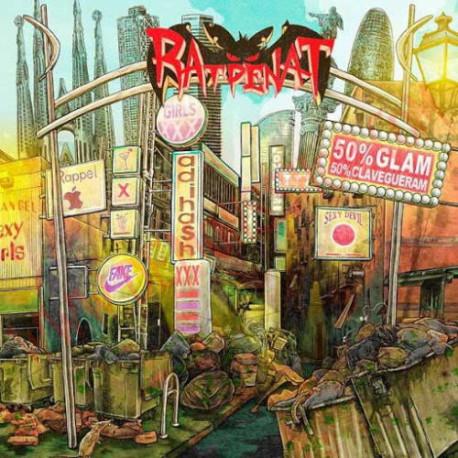 Vinilo LP Ratpenat – 50% Glam 50% Clavegueram