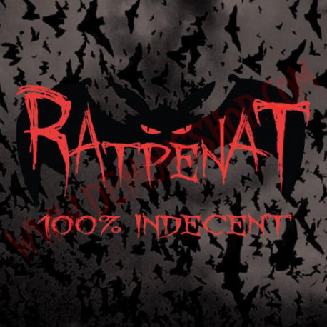 Vinilo LP Ratpenat ‎– 100% Indecent