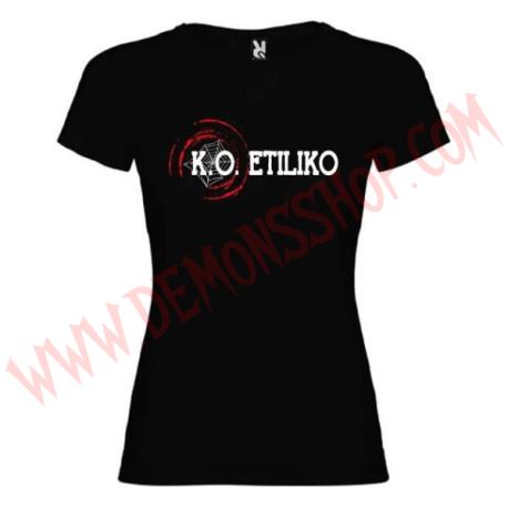 Camiseta Chica KO Etiliko