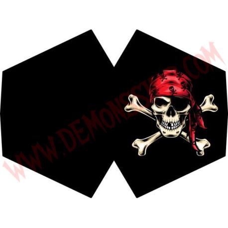 Mascarilla Calavera Pirata