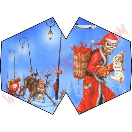 Mascarilla Eddie (Navidad)