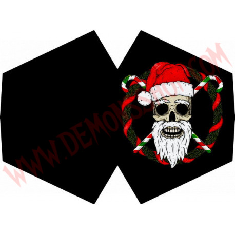 Mascarilla Santa Claus Death
