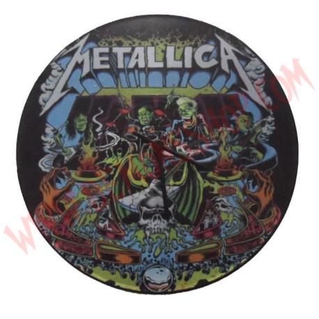Reloj pared Metallica