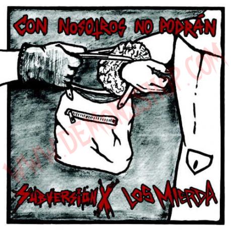 Vinilo LP Subversion X, Los Mierda – con nosotros no podra