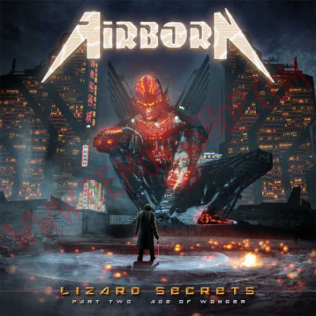 CD Airborn – lizard Secrets - Part Two