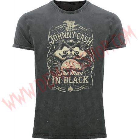 Camiseta MC Johny Cash (a la piedra)