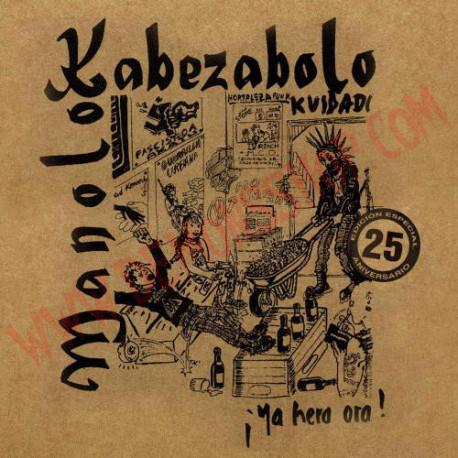 Vinilo LP Manolo Kabezabolo- Ya hera ora