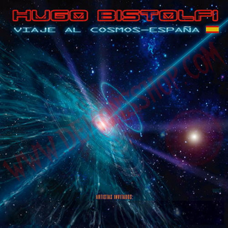 CD Hugo Bistolfi - Viaje al Cosmos - España